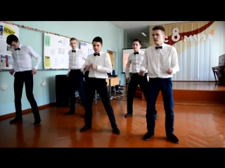 Танец-подарок от горячих парней на 8 марта!.mp4