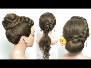 3 Easy Heatless Hairstyles For School