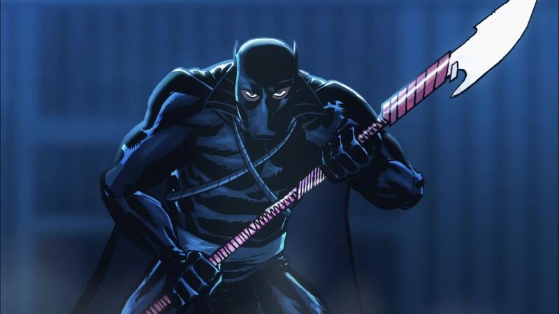Рыцари Marvel Чёрная Пантера эпизод 6 2010 Marvel Knights Animation Black Panther