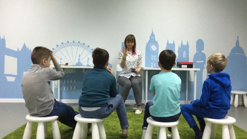 Методика I Love English, курс I Can Read, урок 5-2 часть 1 г.Новосибирск, школа LESKids
