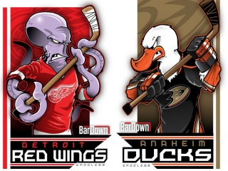 Detroit Red Wings vs Anaheim Ducks