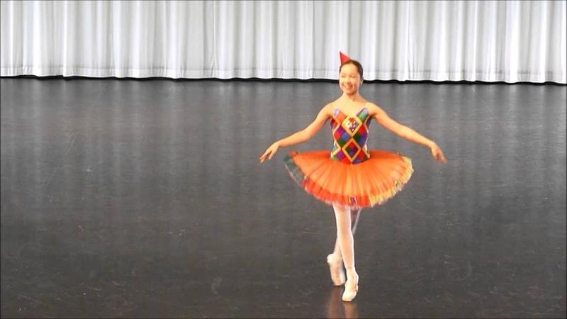 03 Harlequinade -TdoT Staatliche Ballettschule Berlin 2016