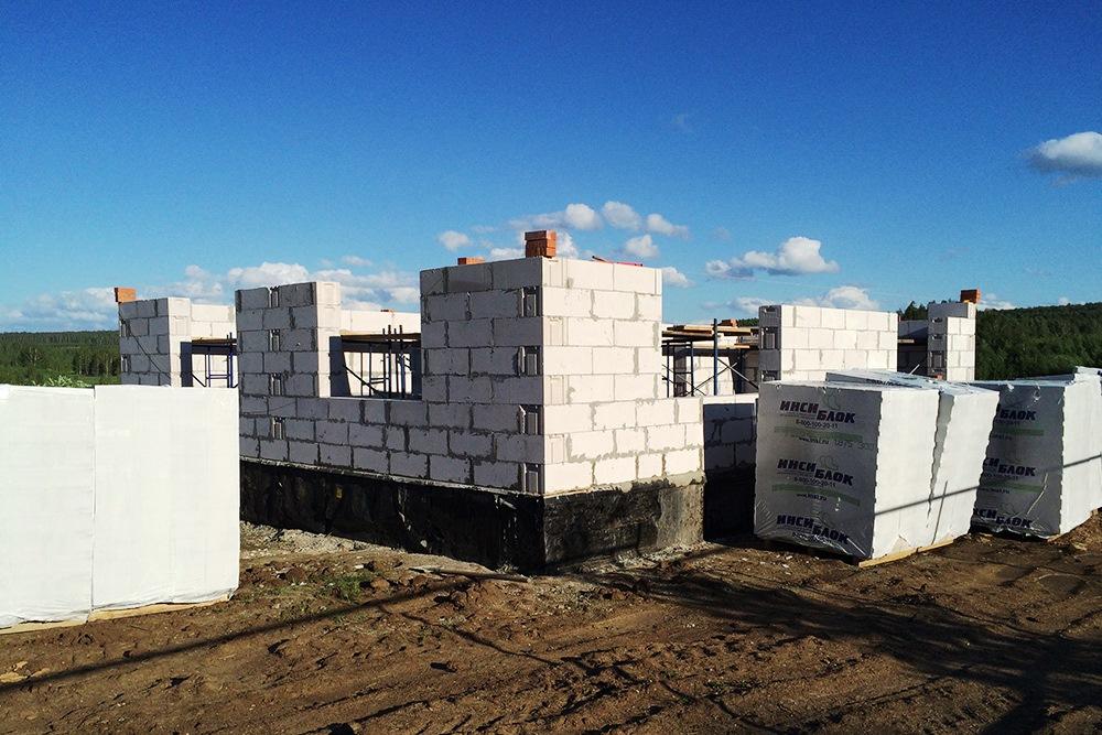 Проекты домов из инси блоков фото