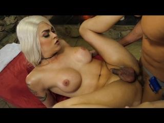 Domino Presley - Scene 1 [2017г. Shemale Hardcore, Blowjob, Anal