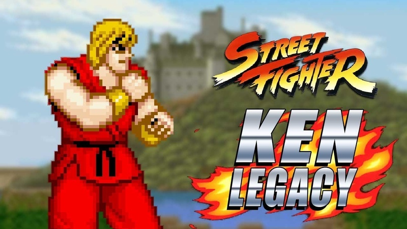STREET FIGHTER...The Bad One Ken Legacy - Street Fighter 87