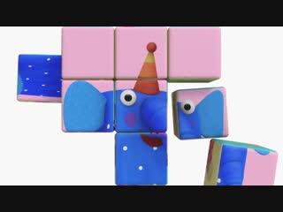 Деревяшки - Полет - Серия 52 - развивающие мультики для самых маленьких