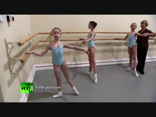 Dance of the Little Swans. Vaganova Academy auditions young dancers