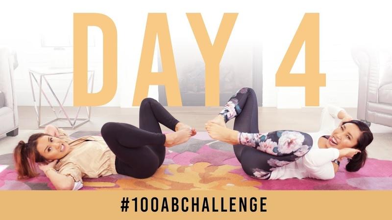 Испытание пресса - 100 покачиваний. Day 4: 100 Wiggles! | 100AbChallenge w/ LaurDIY