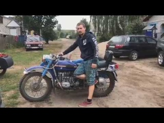 Покупка мотоцикла Урал. Первые впечатления