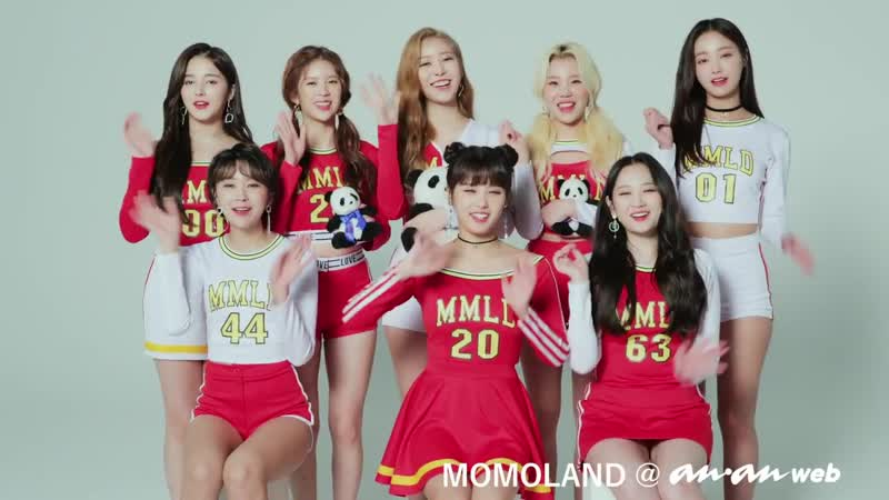 181102 MOMOLAND Interview ananWEB
