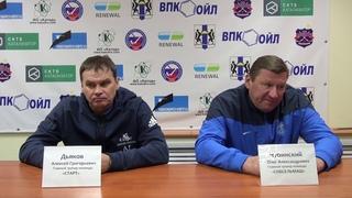 Пресс-конференция О.Чубинского и А.Дьякова