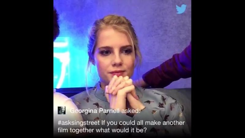 16 05 2016 LionsgateUK Twitter Chat @parns AskSingStreet
