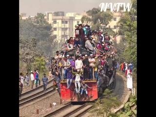Bangladesh railway natural video the