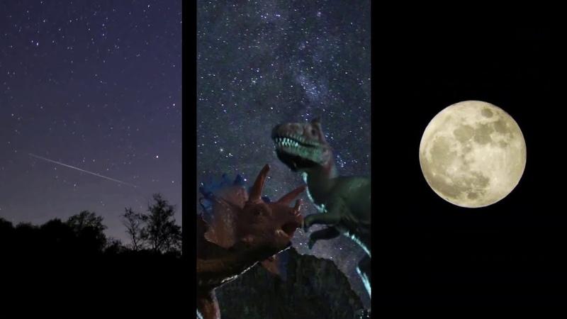 НАСА астрономиялық шолуы Мамыр 2019 ¦ Эта Акваридалар Аспандағы динозаврлар Көгілдір Ай