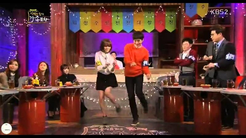 VID 141210 Full House Myungsoo dancing AOA's Like A Cat