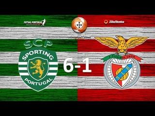 Liga SportZone   Jornada 19   Sporting 6-1 SL Benfica
