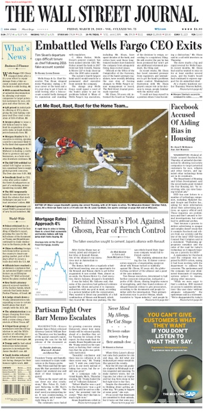 The Wall Street Journal-29-March-2019