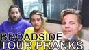 Broadside TOUR PRANKS Ep 352 Warped Edition 2018
