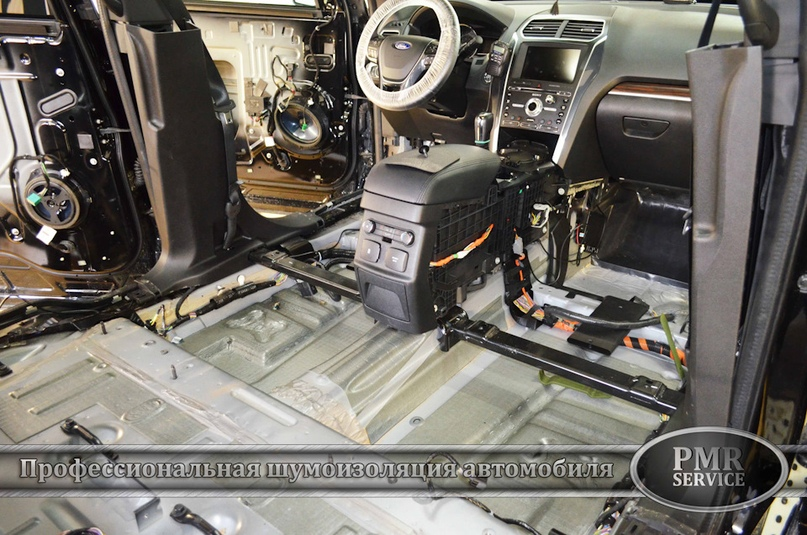 Шумоизоляция Ford Explorer, изображение №3