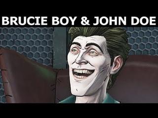 Brucie Boy & John Doe As Good Friends - BATMAN Season 2 The Enemy Within Episode 3: Fractured Mask