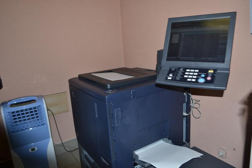 Немного фото с производства. Мы предлагаем офсетную ,цифровую, широкоформатную печать и сканирование - Типография Седьмой Легион