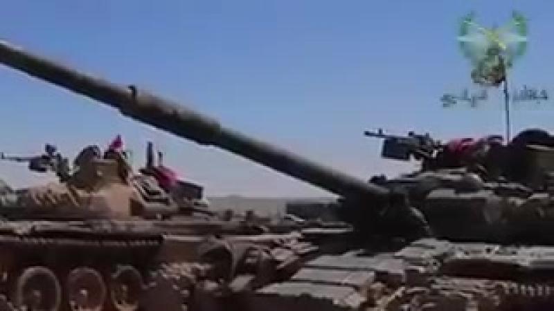 Сухейль аль Хассана контролирует свои подразделения в Даръа
