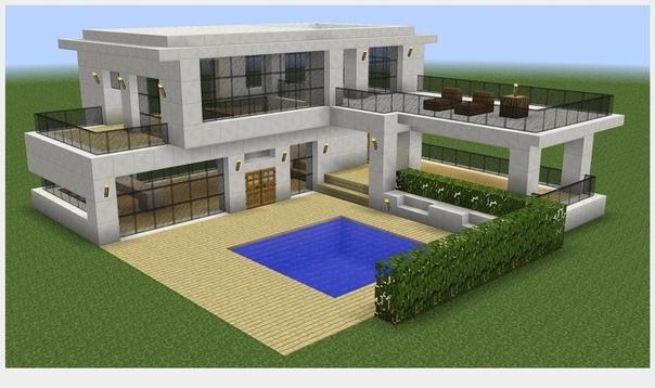как построить красивый дом а майнкрафте #10