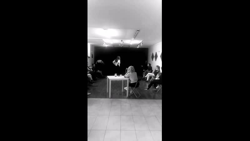 Новое видео с Зеррин. (Лейлой).