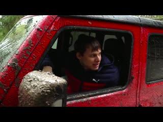 Jeep wrangler! выехали из ада! предел проходимости сток рубикона