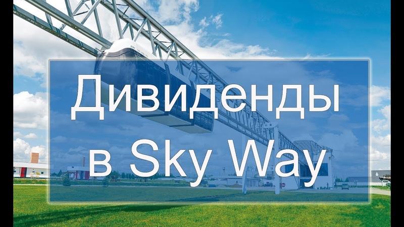Поговорим о дивидендах и инвестировании в транспортную технологию SkyWay