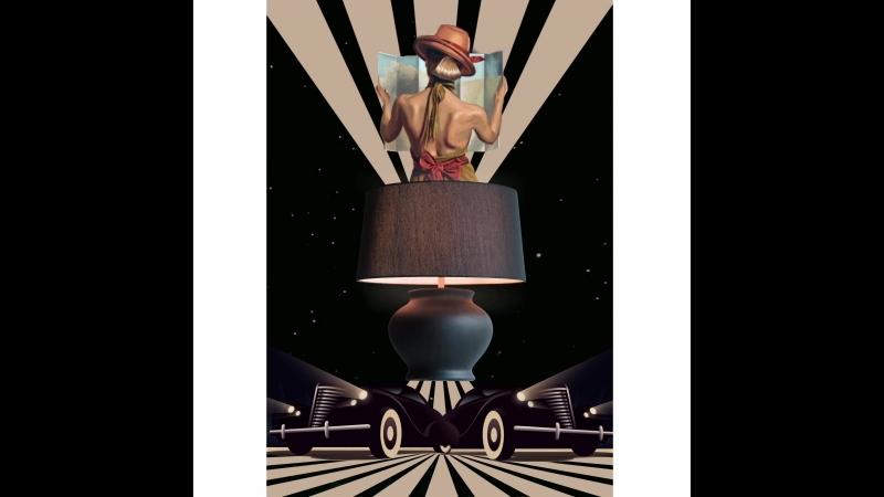 Настольная лампа Harrods, Lucia Tucci