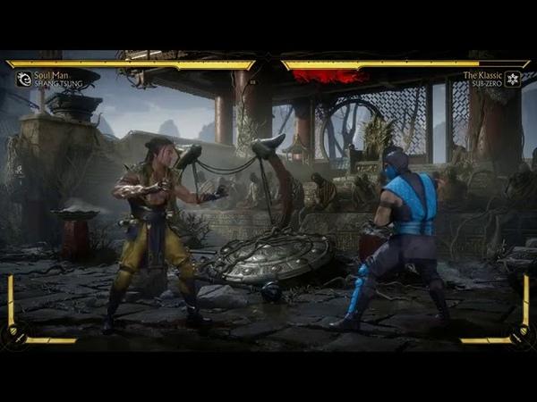 Mortal Kombat 11 Kombat Kast 9 Shang Tsung Gameplay