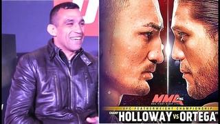 UFC 231 БОЙ ХОЛЛОУЭЙ ОРТЕГА ПРОГНОЗЫ БОЙЦОВ MMA
