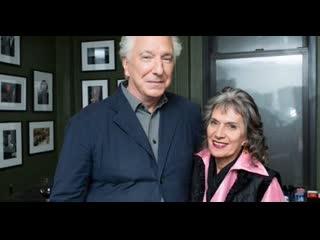 Алан Рикман с Аннетт Инсдорф, запись 18 июня 2015, Нью-Йорк