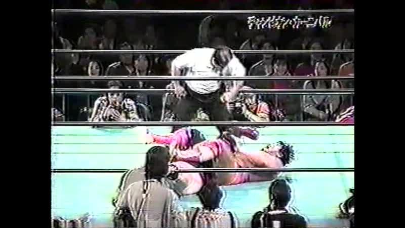 1999.04.08 - Kenta Kobashi vs. Vader [JIP]