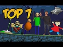 Top 7: Baldis Basics in Education and Learning Characters in Bad Piggies