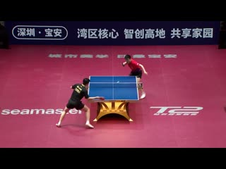 Fan Zhendong vs Ma Long - 2019 ITTF China Open Highlights (1-4)