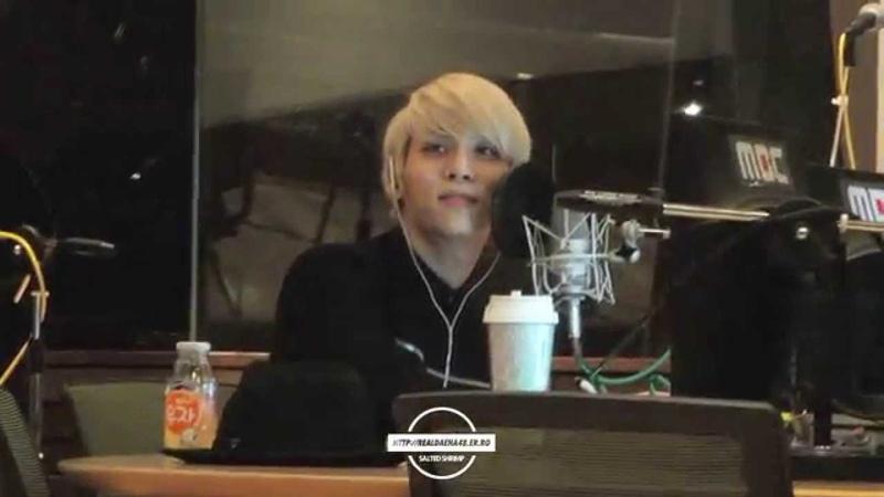 141128 SHINee Jonghyun 쫑디 오늘 방백 @ MBC 푸른밤 종현입니다 가든스튜디오