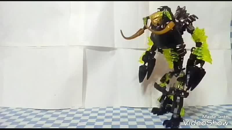 Обзор на Лего Бионикл самоделку Umarak the