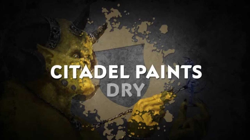 How to Paint: Citadel Dry Paints