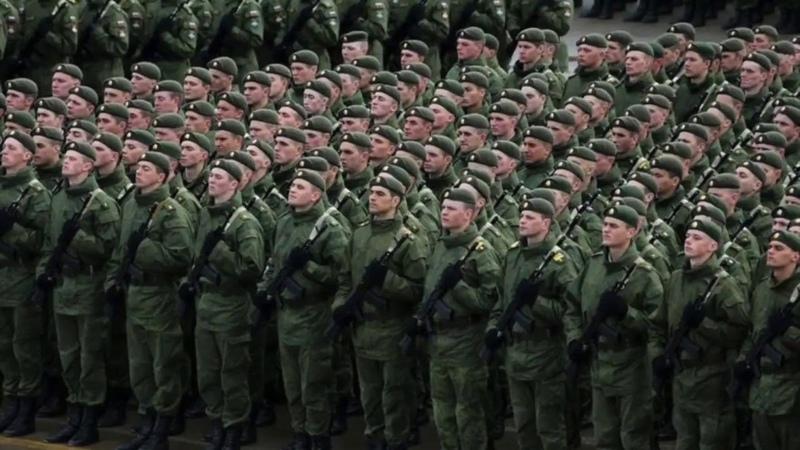 Армия Голосуем за партию Единая Россия