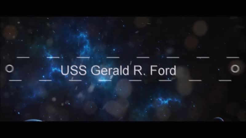Supercarrier USS Gerald R Ford