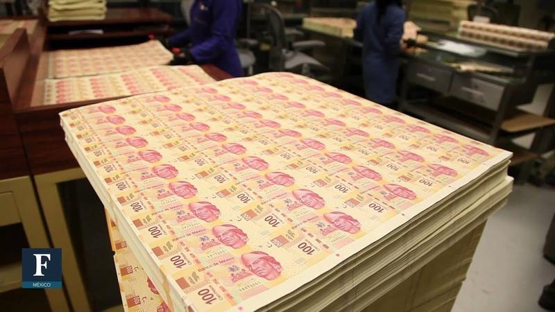 Una fábrica de 1,300 millones... de billetes