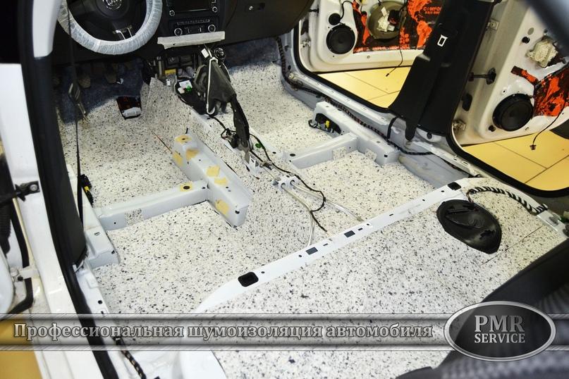 Комплексная шумоизоляция Volkswagen Jetta, изображение №4