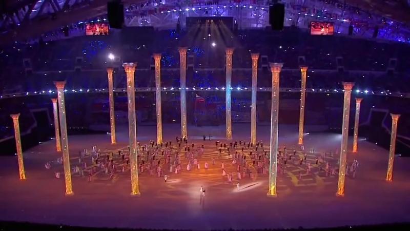 Церемония открытия Олимпиады в Сочи 2014
