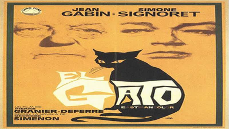 Cine clásico.- El gato.- (1971).Español