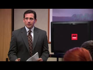 Там на экране целый день плавает квадратик - Офис  The Office Сериал Комедия Угар Прикол Юмор Смех Шутка