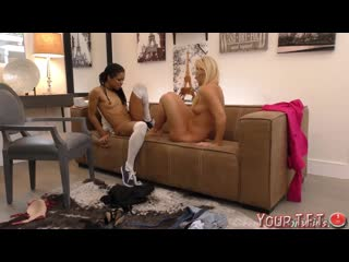 #TFT India Summer, Kira Noir [Lesbian, Interracial, MILF, Teen, Ebony, 2018, 1080p] Mom