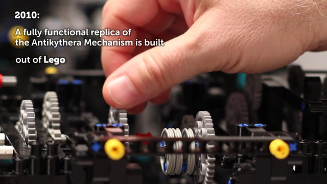 2000-Year-Old Computer Remade in Lego