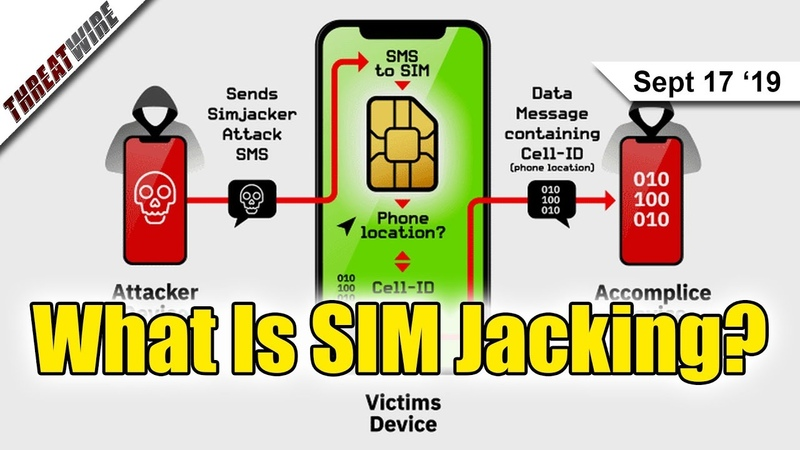 SIM Jacking Can Steal Device Data - ThreatWire
